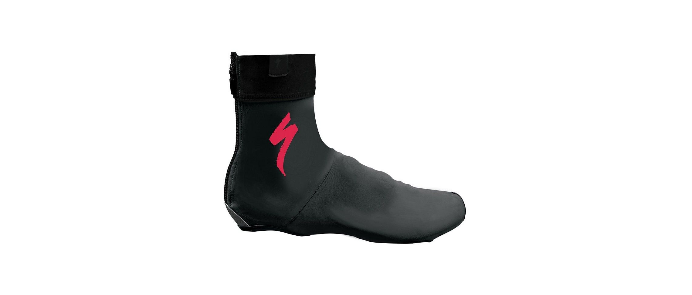 SHOE COVER S LOGO BLK ACDRED M
