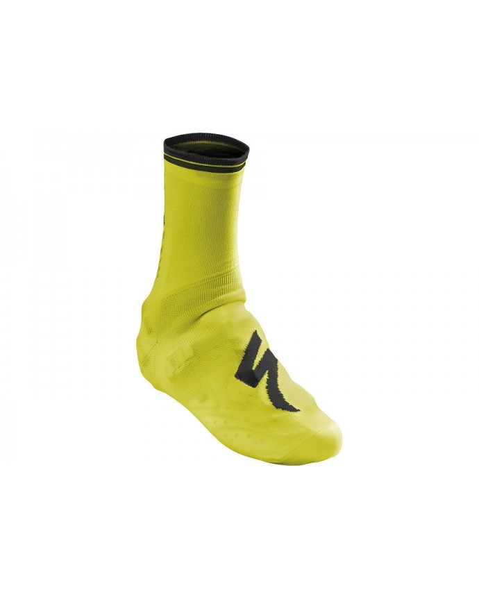 SHOE COVER SOCK NEON YEL L