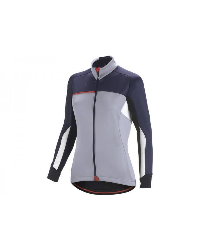 ELEMENT RBX COMP JACKET WMN LTGRY BLU WHT M