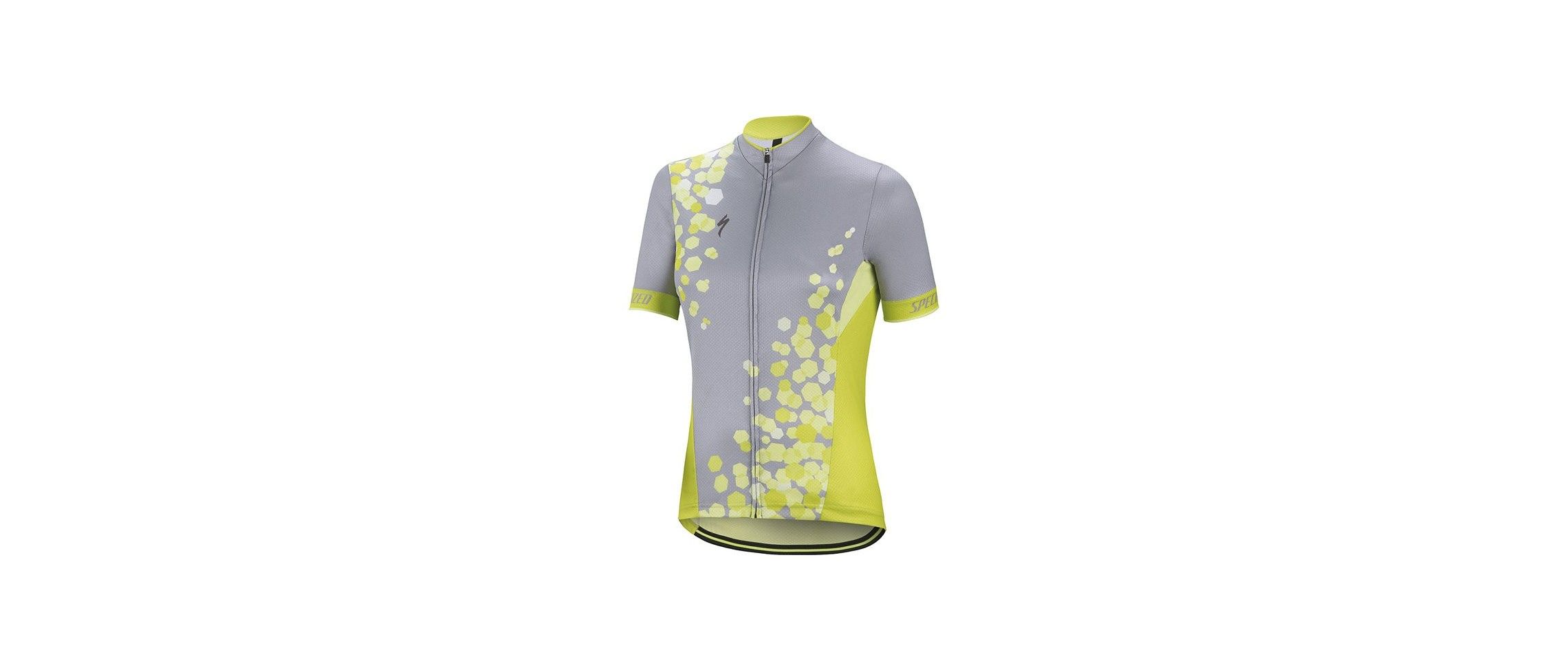 Rbx Comp Maillot Specialized Mujer Gris/Verde Hyper 1 IBKBike.es