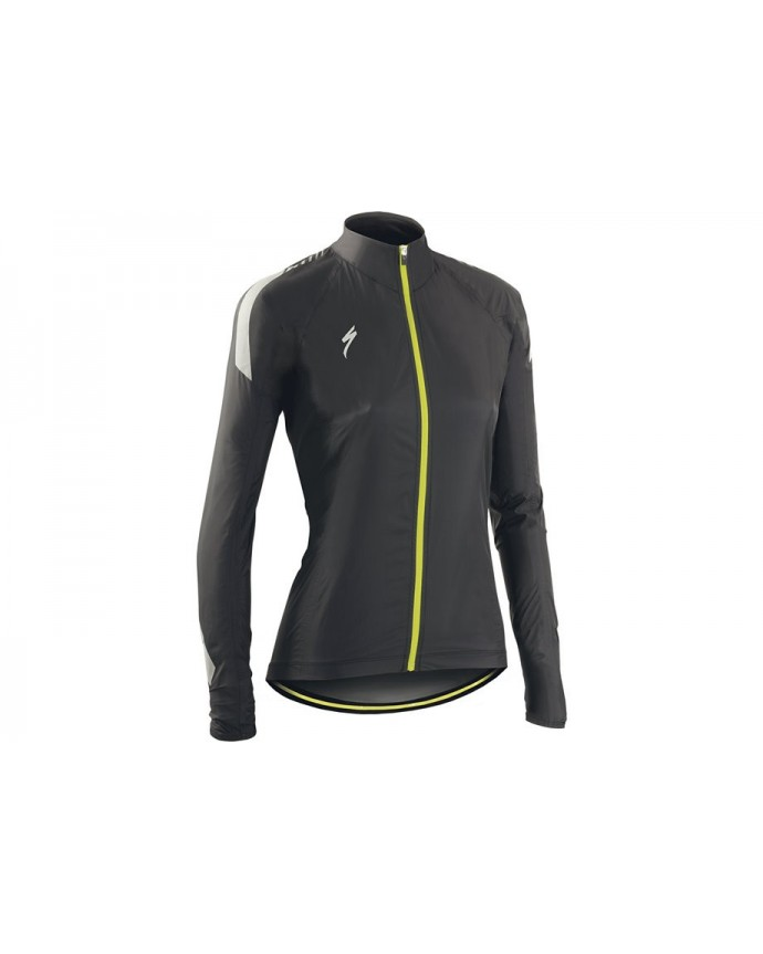 DEFLECT RBX ELITE HI VIS JACKET WMN BLKCARB M