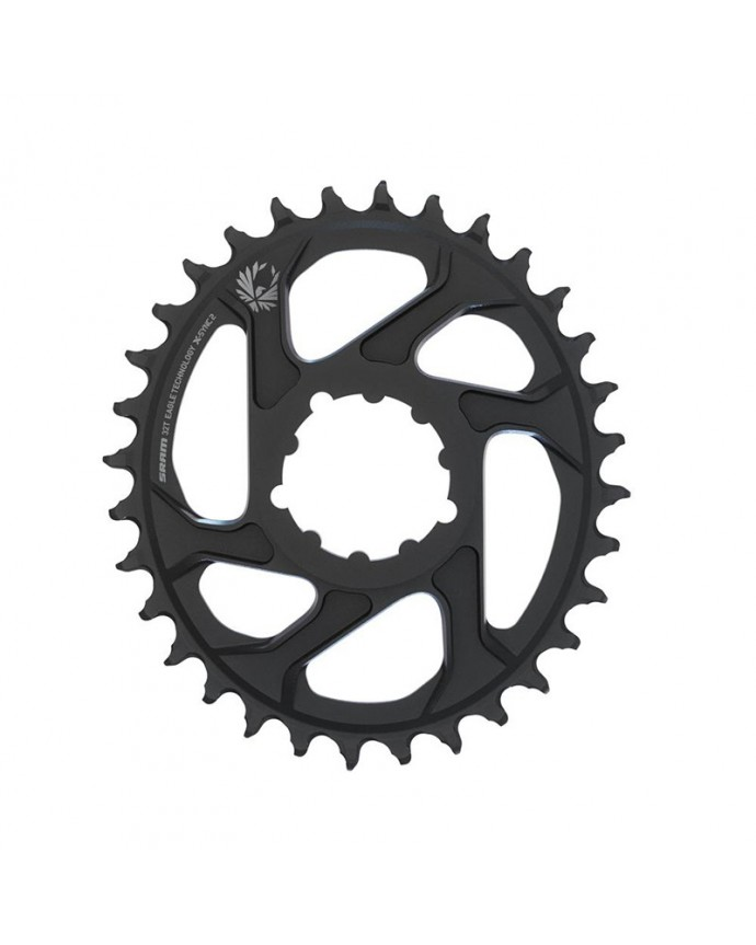 Plato Sram X-Sync 2 Eagle Oval 32D Direct Mount Boost 3 mm Offset 12v Negro