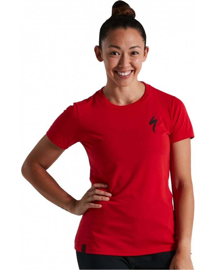 S-Logo Camiseta SS Specialized Mujer Flo Red