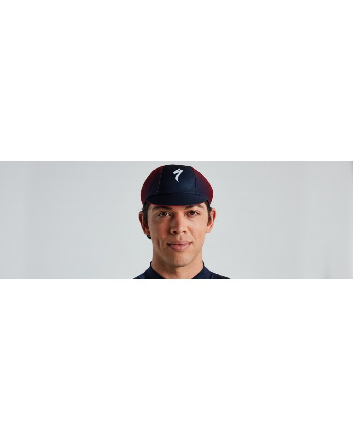 Gorra Ciclismo Specialized Light Printed Logo Navy/Red