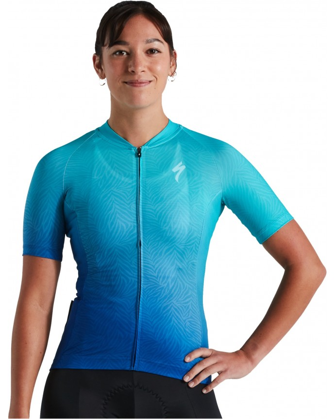 SL Jersey SS Specialized Mujer Classic Blue/Turquois