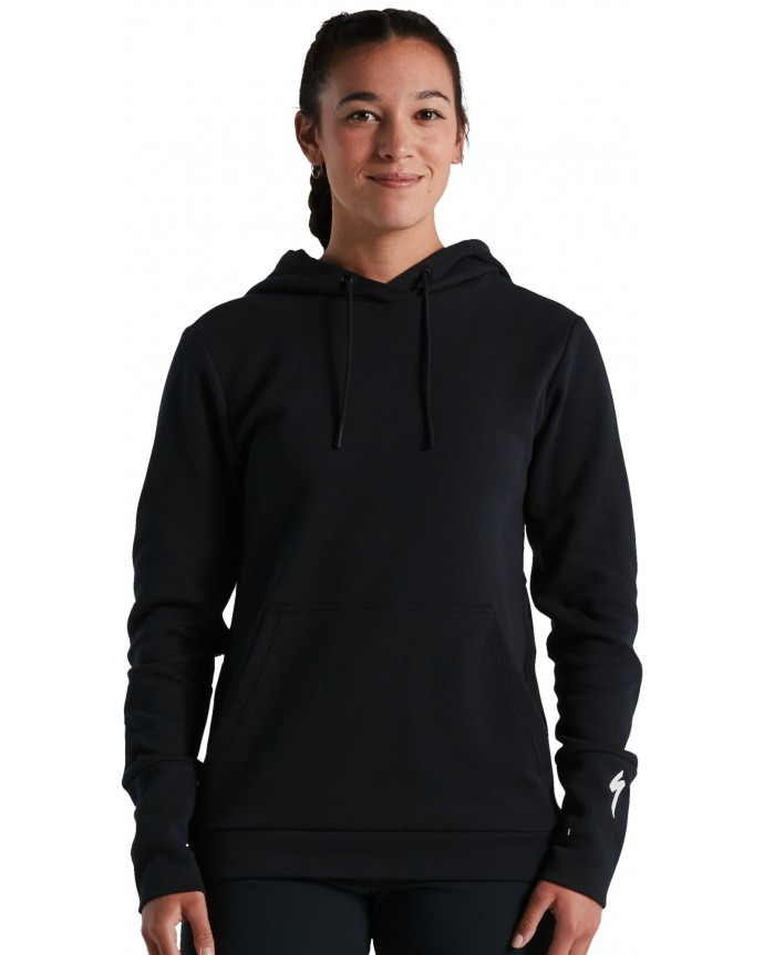 Legacy Pull-Over Sudadera Capucha Specialized Mujer Negro