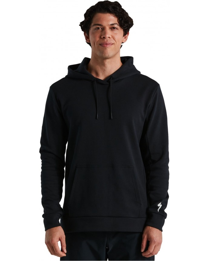 Legacy Pull-Over Sudadera Capucha Specialized Hombre Negro