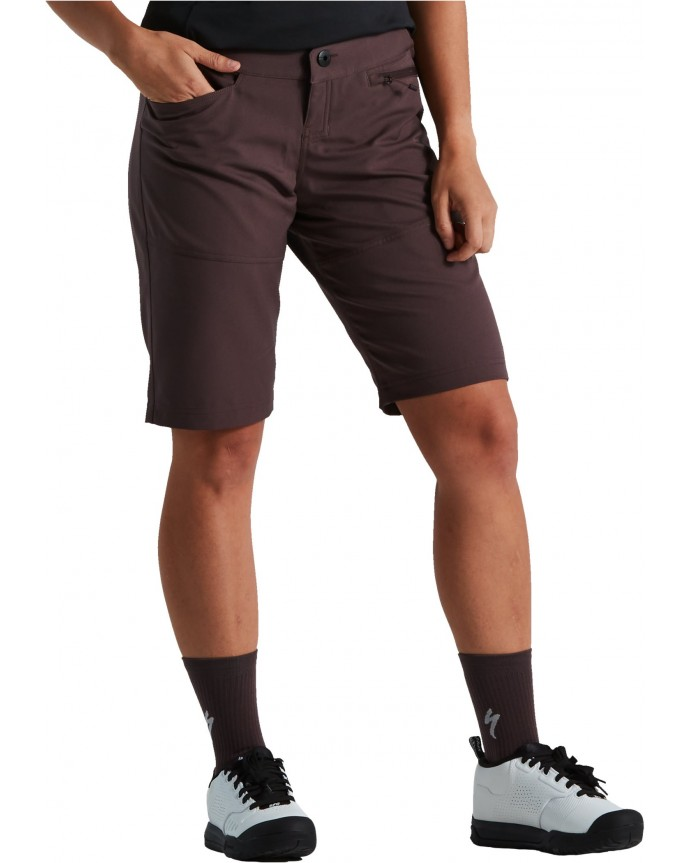 Trail Pantalon Corto C/Liner Specialized Mujer Cast Umber
