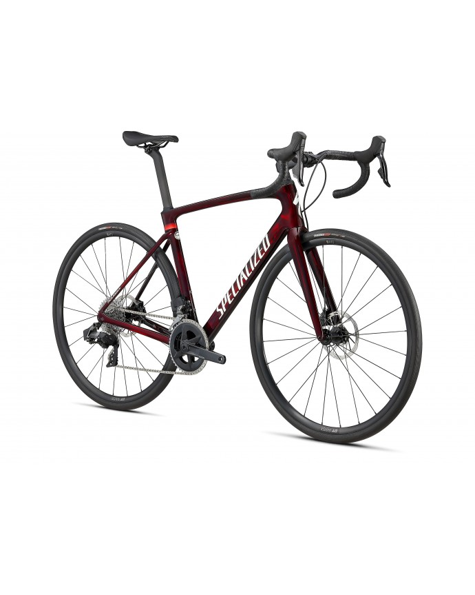 Roubaix Comp Specialized Gloss Red Tint/Carbono/Metallic White Silver