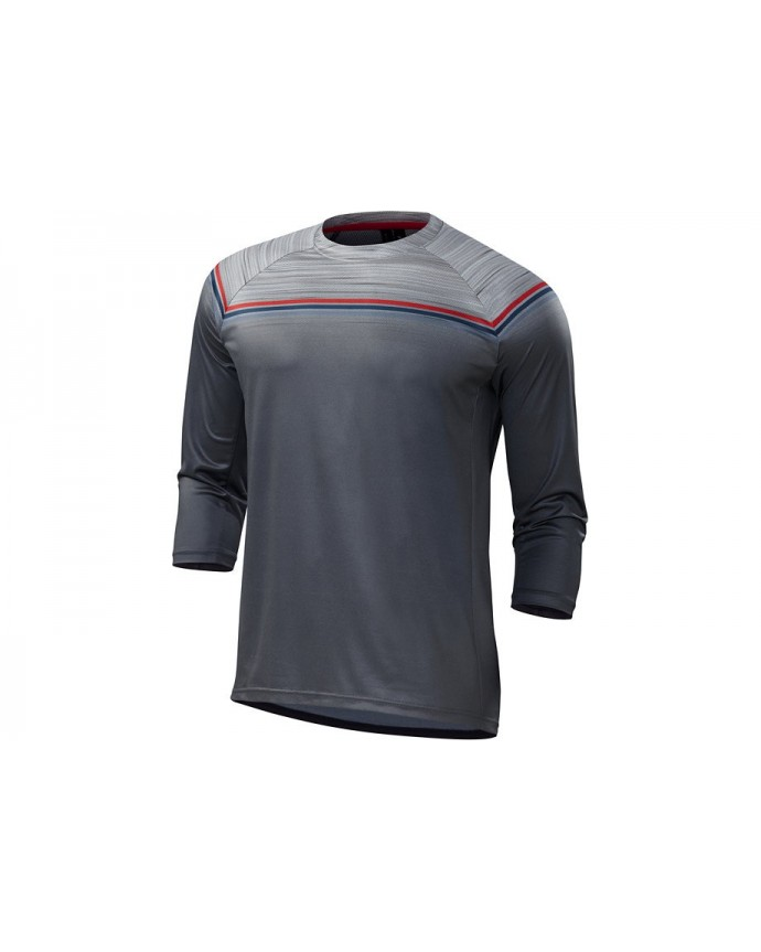 ENDURO COMP 3 4 JERSEY GRY RED XL