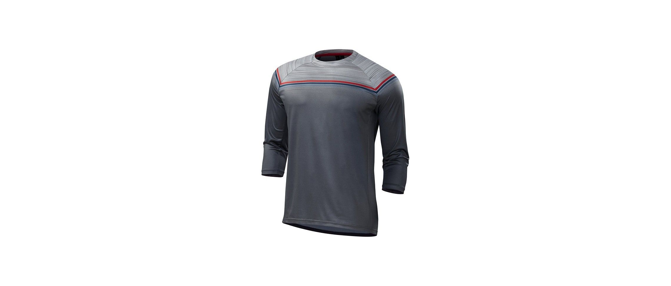 Enduro Comp 3/4 Maillot Specialized Grey/Red 1 IBKBike.es