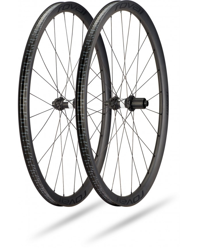 Roval Terra CL Wheelset 700C Specialized Satin Carbon/Satin Charcoal