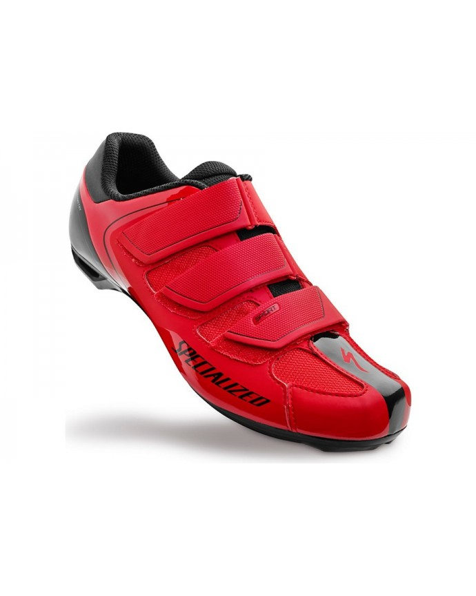 SPORT RD SHOE RED BLK 44