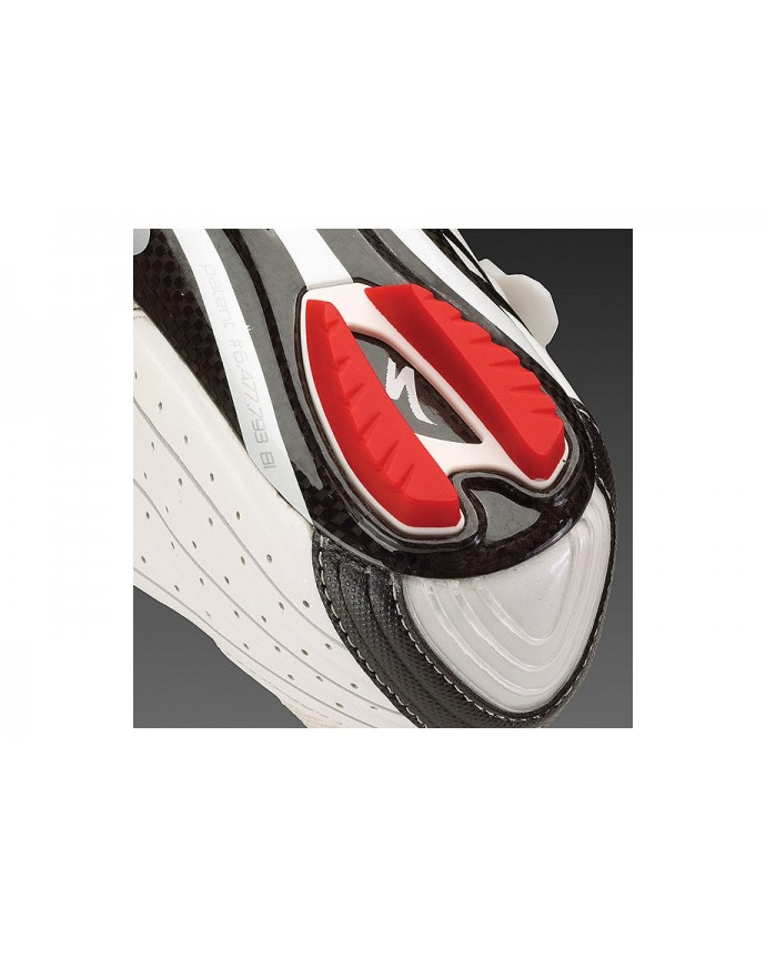 REPLACEMENT HEEL LUGS RED WHT 48 49