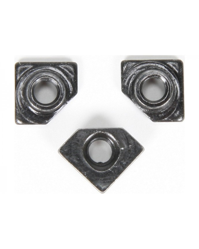 3 HOLE REPLACEMENT T NUT BLK 10PCS