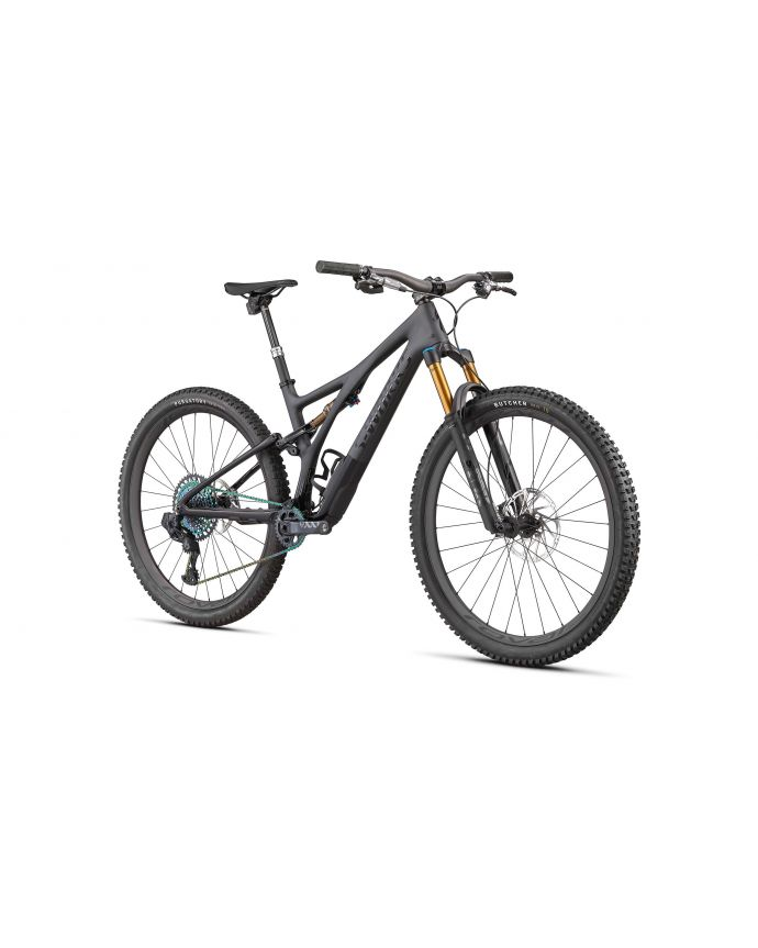 Stumpjumper S-Works Mtb Specialized 2022 Satin Brushed Negroiquid Metal/Gloss Negro/Negroogos