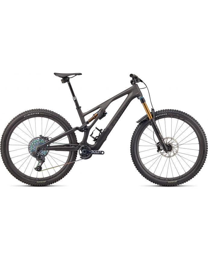 Stumpjumper Evo S-Works Mtb Specialized 2022 Satin Brushed Negroiquid Metal/Carbon/Negro