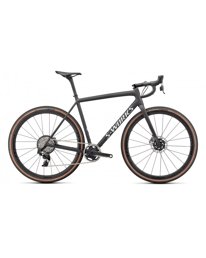 Crux S-Works Specialized 2022 Satin Carbon/Spectraflair/Gloss Abalone