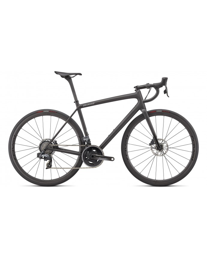 Aethos Pro Etap Specialized 2022 Carbon/Flake Silver/Gloss Black Fork Fade