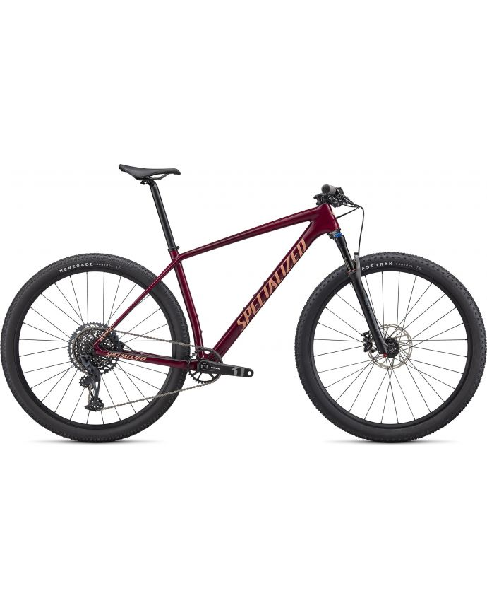 Epic HT Comp Specialized 2022 Brillo Granate/Ice Specialized Papaya