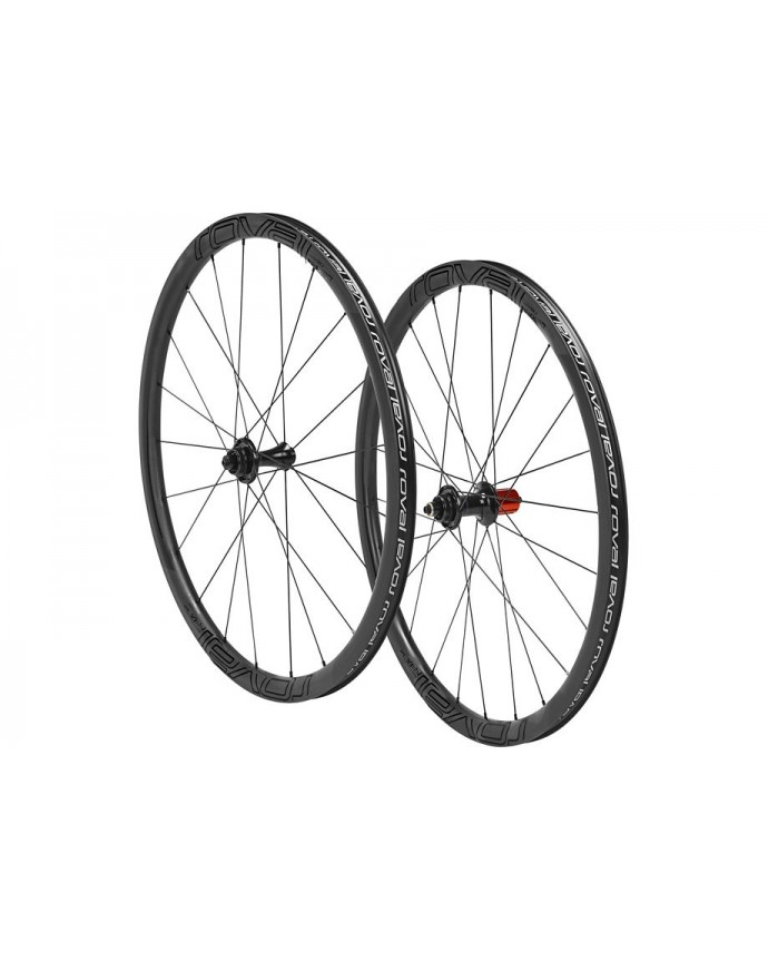CLX 32 DISC 650B WHEELSET SATIN CARBON GLOSS BLK