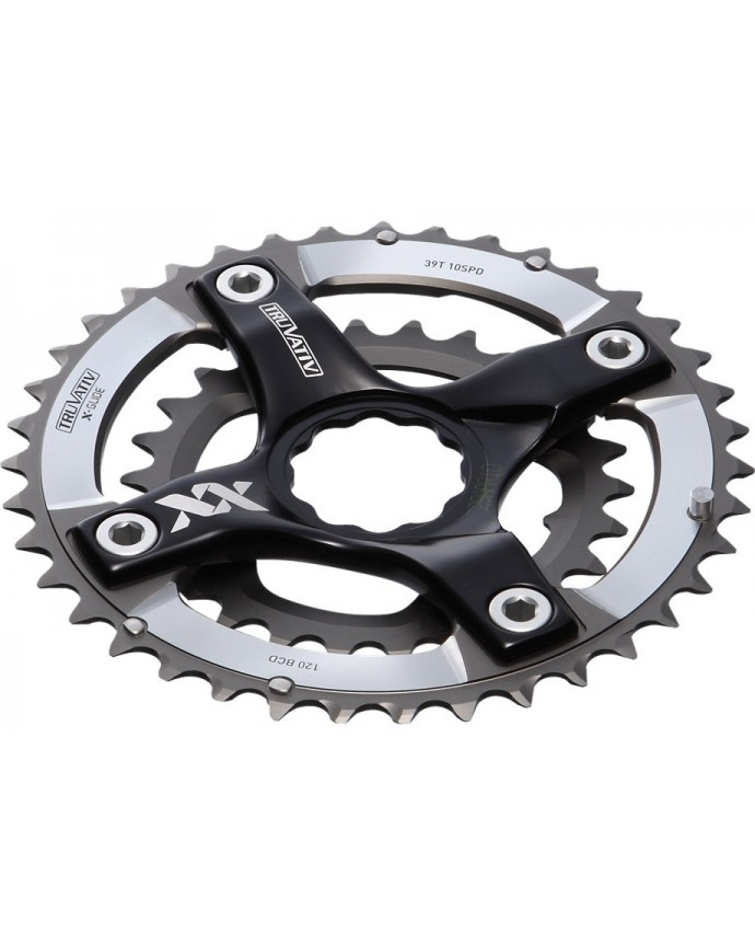 SRAM 10SPD SPIDER RINGS FOR SW CRANKS 24 38