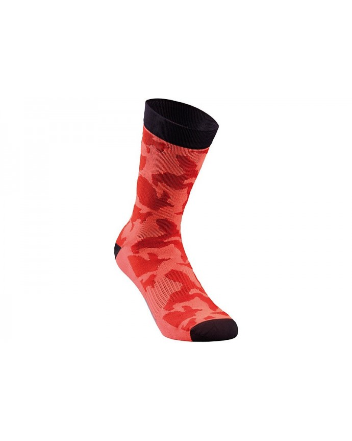 CAMO SUMMER SOCK RKTRED XL