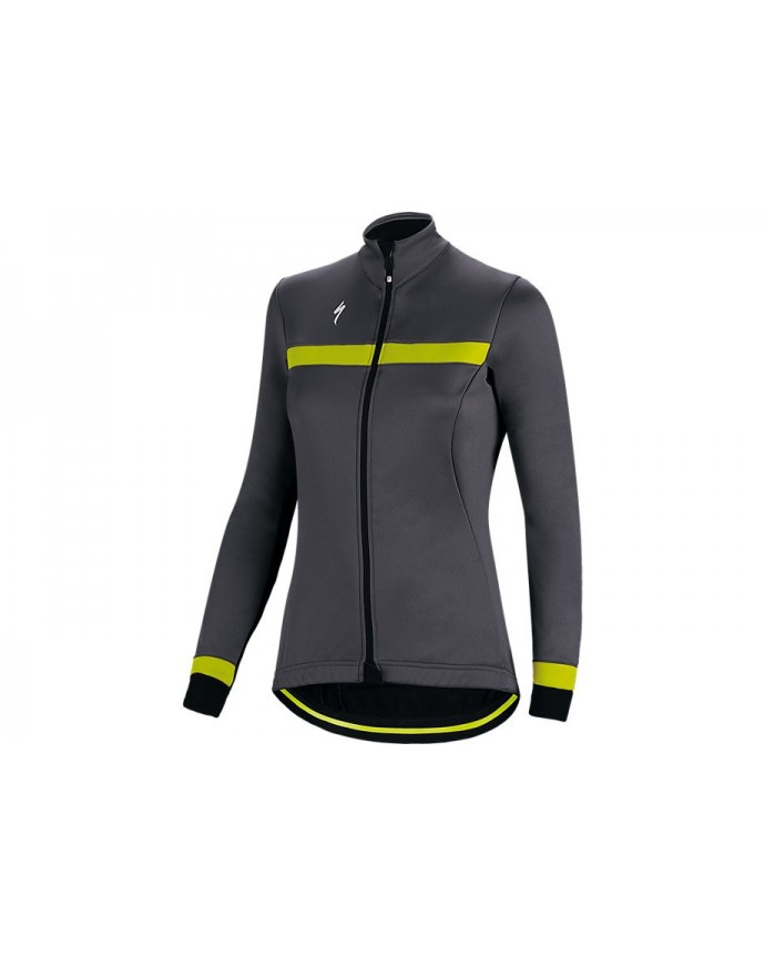 ELEMENT RBX SPORT JACKET WMN DKGRY NEON YEL M