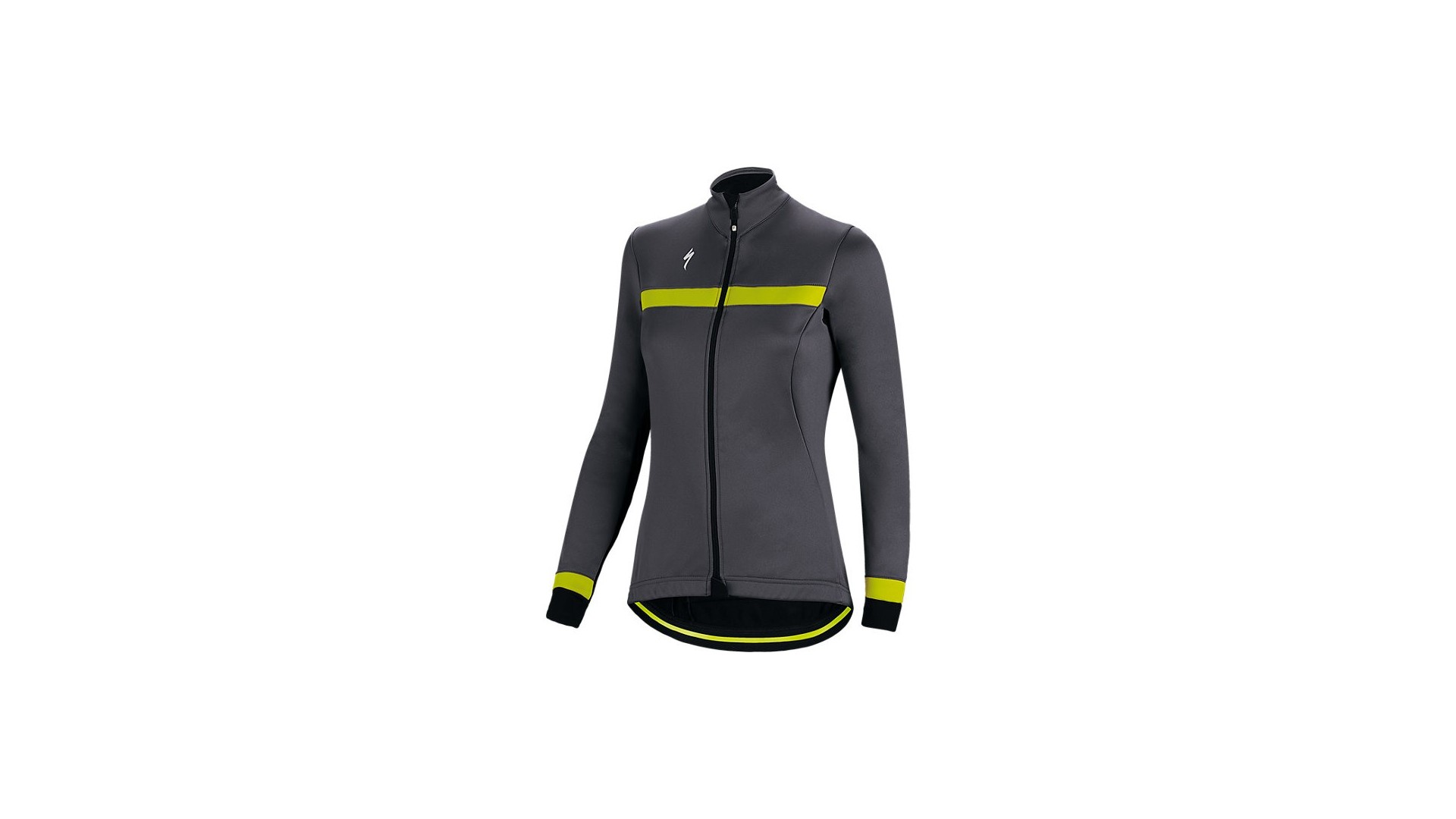 Element Rbx Sport Chaqueta Specialized Mujer Gris Oscuro/Amarillo Neon 1 IBKBike.es