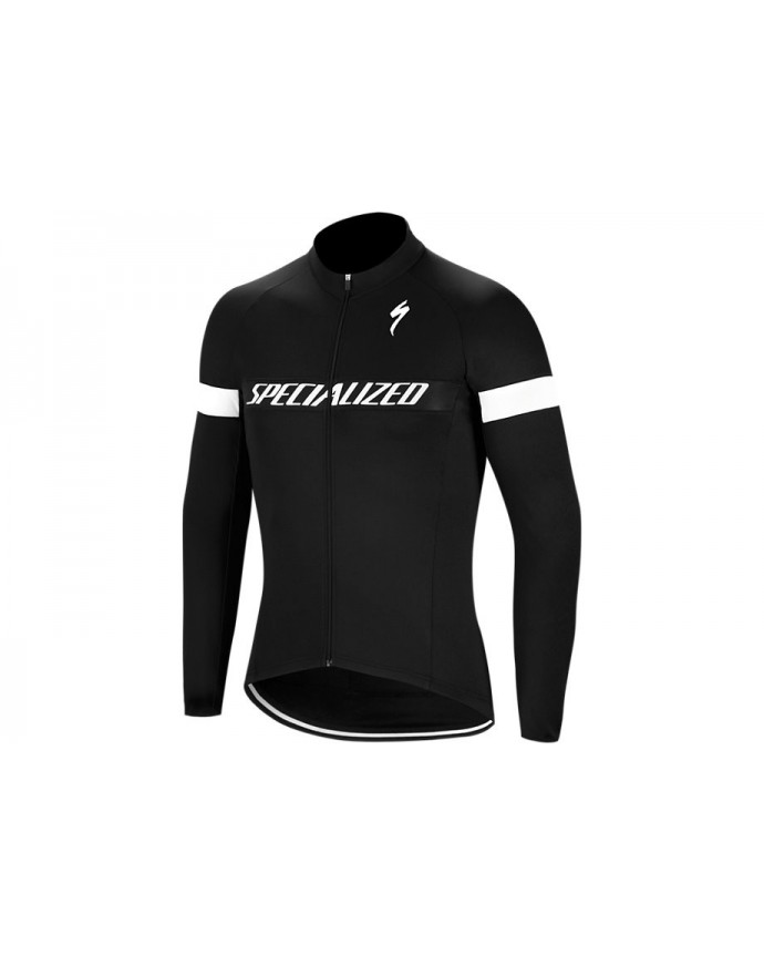 THERMINAL RBX SPORT LOGO JERSEY LS BLK WHT M