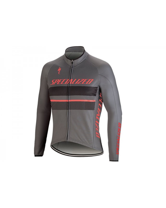 ELEMENT RBX COMP LOGO JERSEY LS ANTH ACDRED M