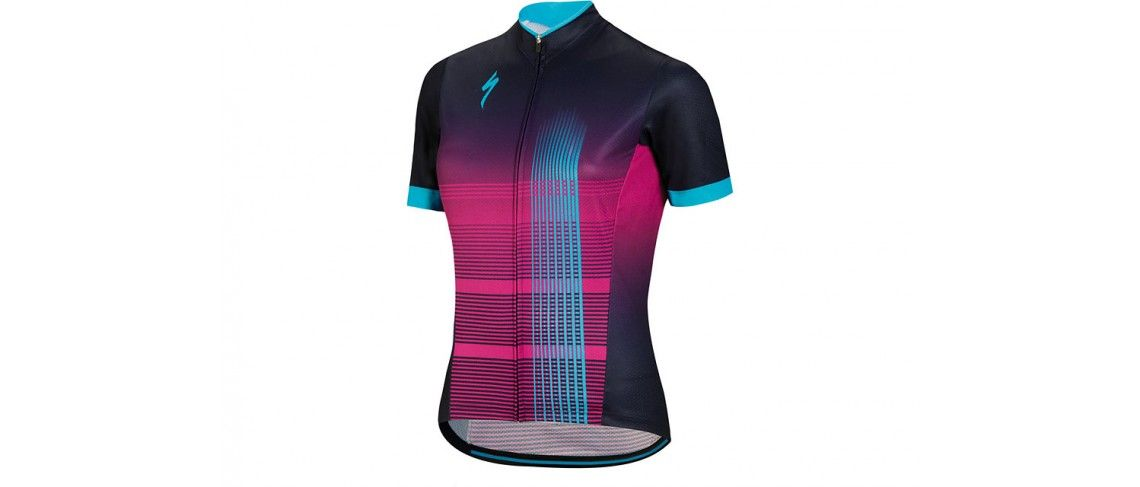 Rbx Comp Maillot Specialized Mujer Azul/Violeta/Azul Neon 1 IBKBike.es