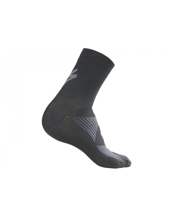 SL ELITE MERINO WOOL SOCK WMN BLK L