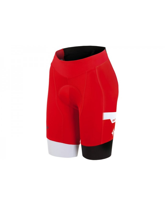 TEAM PRO SHORT WMN RED WHT XL