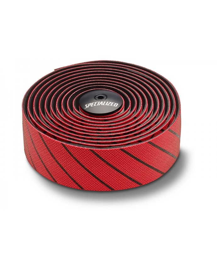 S WRAP HD TAPE RED BLK LINES