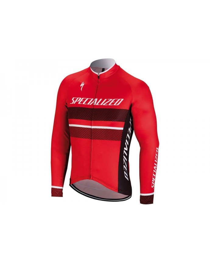 Rbx Comp Logo Maillot Specialized Rojo/Negro 1 IBKBike.es