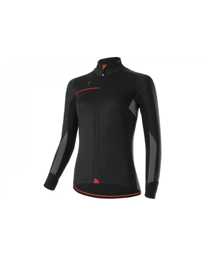 ELEMENT RBX COMP WMN JACKET BLK GRY RED XS
