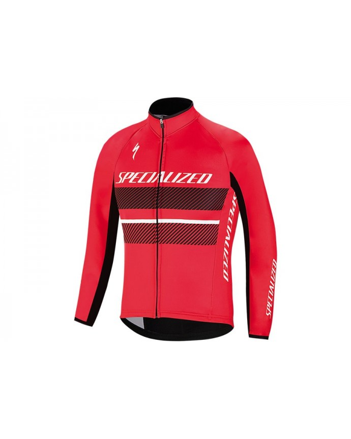 ELEMENT RBX COMP LOGO YOUTH JACKET RED BLK L