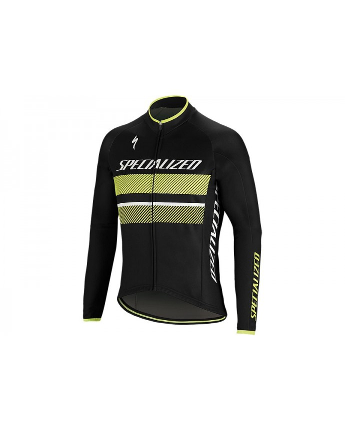 Element Rbx Comp Logo Maillot Specialized Black/Yellow 1 IBKBike.es