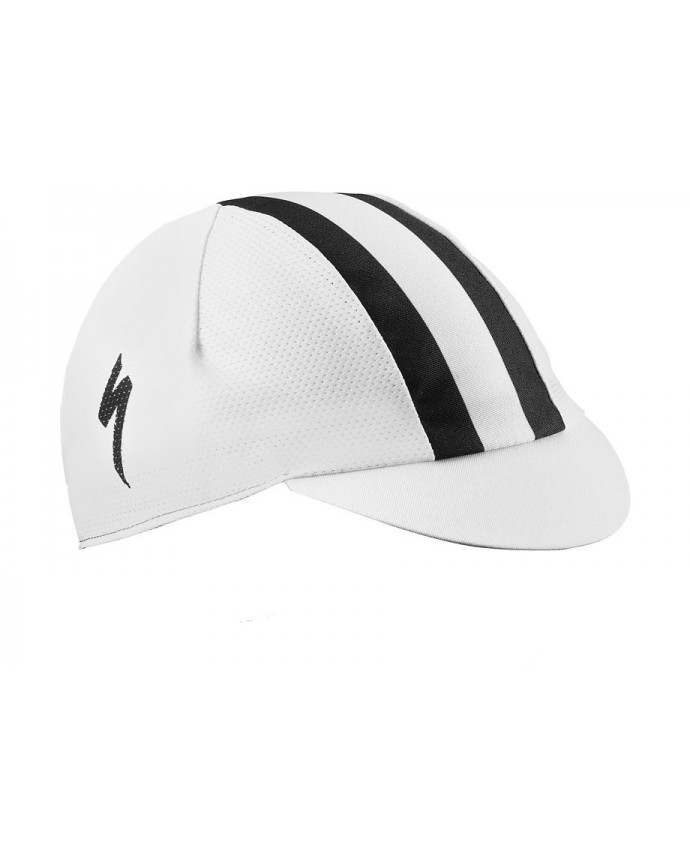 CYCLING CAP LIGHT WHT BLK OSFA