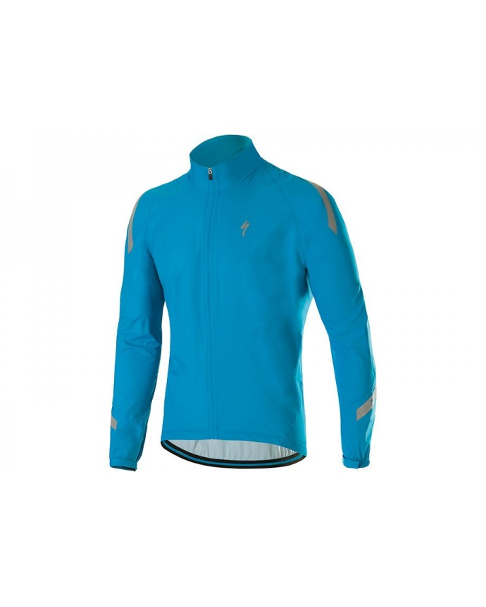 DEFLECT RBX ELITE HV RAINJACKET NEON BLU M
