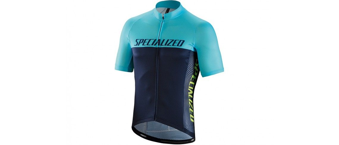 Rbx Comp Logo Team Maillot Specialized Navy/Turquesa 1 IBKBike.es
