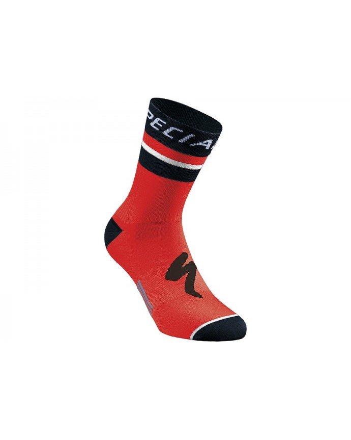 RBX COMP LOGO SUMMER SOCK RED BLK S