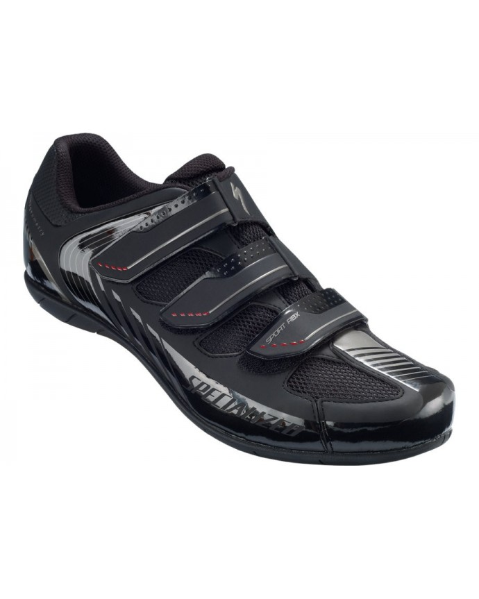 SPORT RBX RD SHOE BLK RED 43