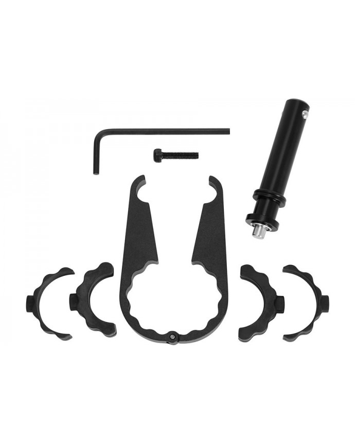 FLUX EXPERT HANDLE BAR MOUNT V2 BLK