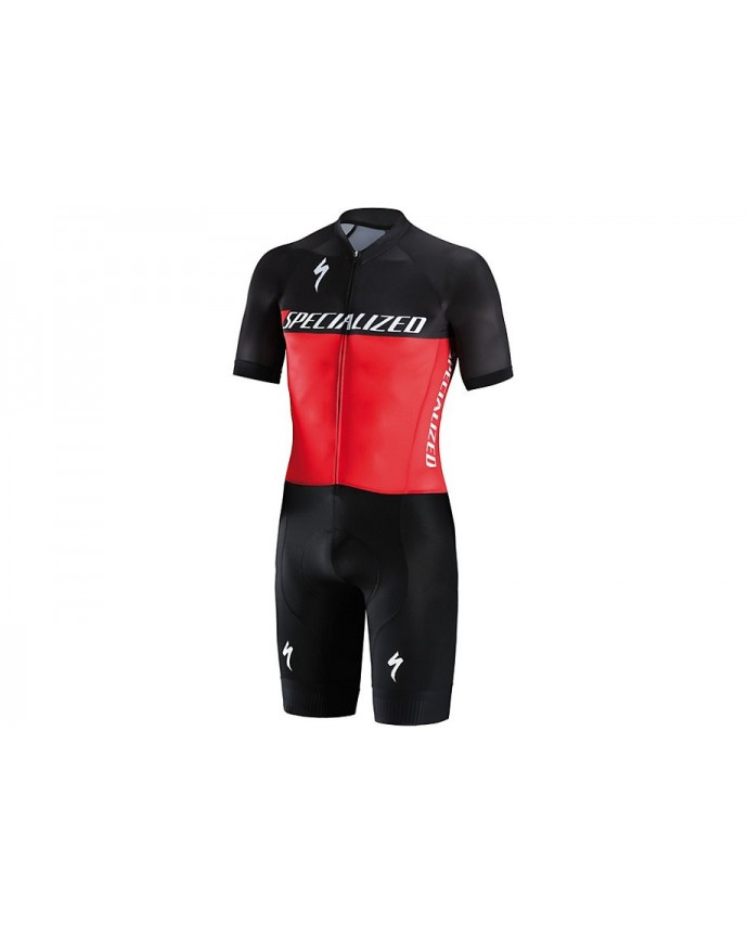 SL AIR SKINSUIT BLK RED M