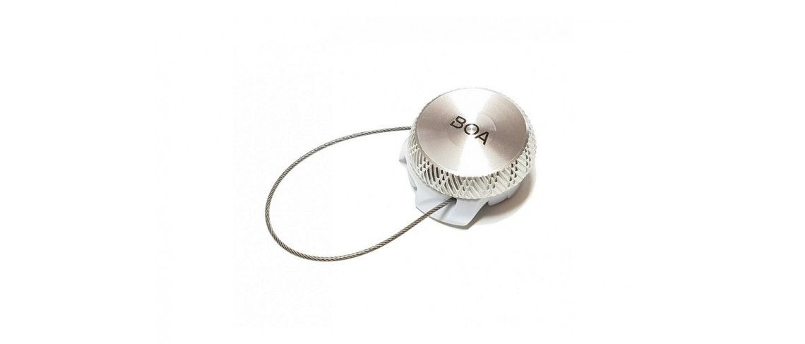 BOA S3-Snap Left Dial W/Lace Specialized Silver 1 IBKBike.es