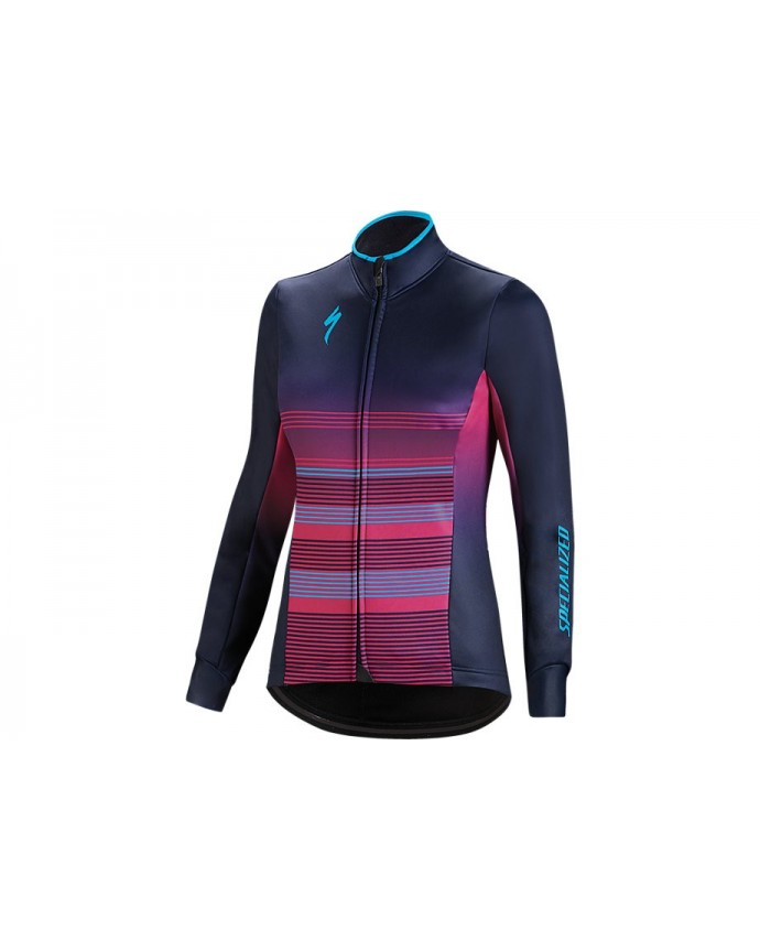 ELEMENT RBX COMP LOGO JACKET WMN BLU VLT NEON BLU L