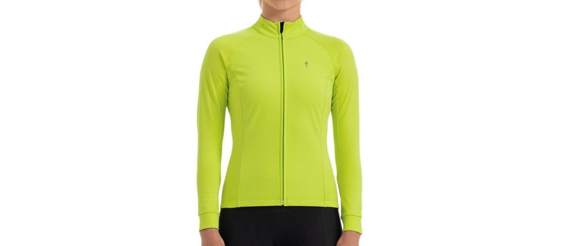 Therminal Wind Maillot LS Mujer HyperViz 1 IBKBike.es