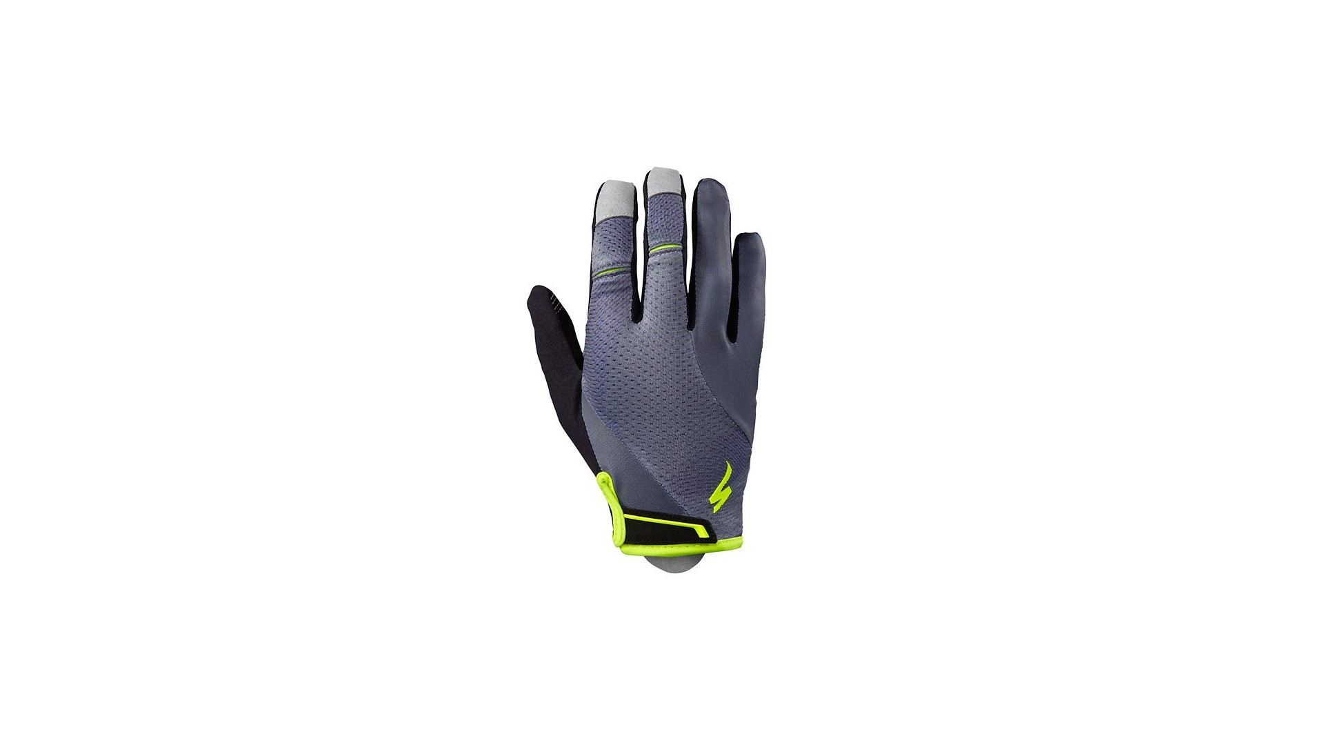 Gel Guantes LF Specialized Mujer Body Geometry Gris Carbon/Neon 1 IBKBike.es